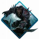 Wow Worgen Icon Symbol Icons Gaming Pack