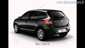 Acheter Une Dacia : couleurs de la dacia sandero 2012 2013 youtube ~ Gottalentnigeria.com Avis de Voitures