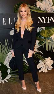 MORGAN STEWART at ELLE, E! and Img New York Fashion Week ...
