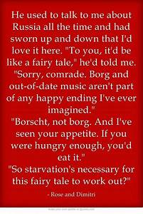 Vampire Academy Quotes | Dimitri Belikov and Rose Hathaway ...