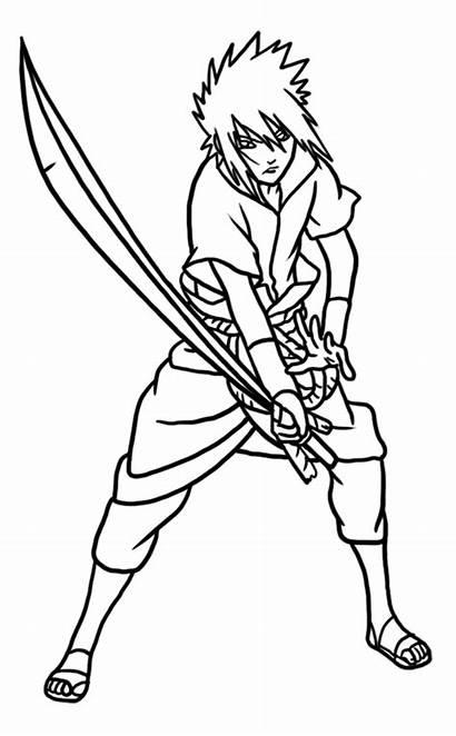 Sasuke Naruto Draw Uchiha Step Easy Learn