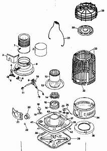 Kenmore 564351011 Space Heater Parts