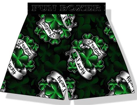 Feelin' Lucky Tattoo Boxer Shorts