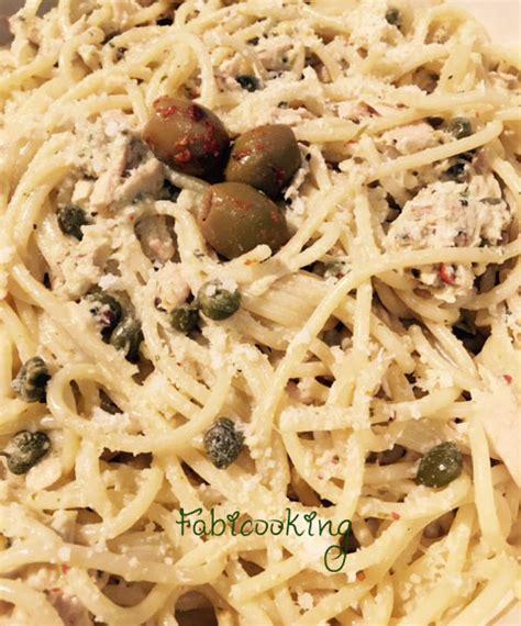 pate au thon rapide recette rapide de spaghetti au thon et c 226 pres fabicooking