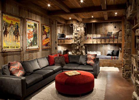 rustic ski lodge home bunch interior design ideas