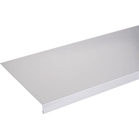 appui de fen 234 tre aluminium 30 x 250 scover plus gris l 1 5 m leroy merlin