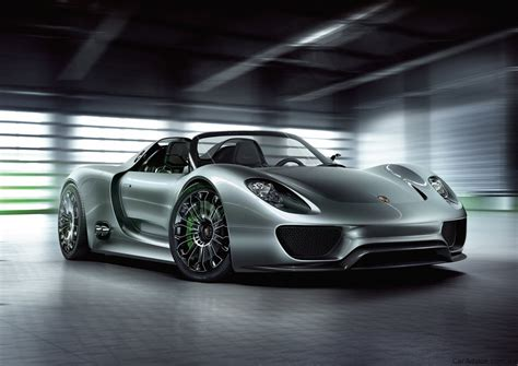 Electric Porsche 918 Spyder Confirmed For Production