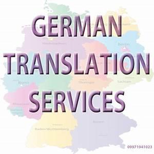 German english document translation service in gurgaon for German document translation services