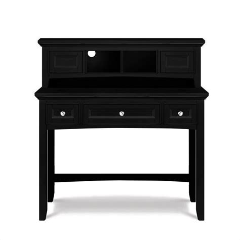 bennett desk with hutch in black finish y1874 30 y1874 31