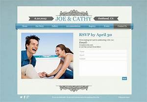 how to create an unforgettable wedding website With wedding video website