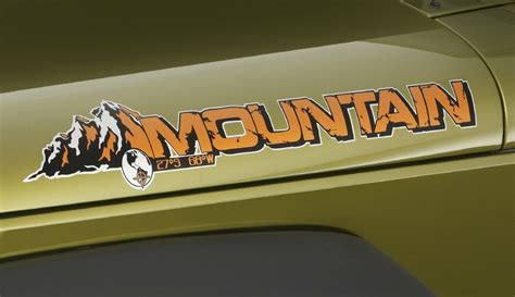 mountain jeep decals jeep wrangler unlimited mountain 2010 cartype