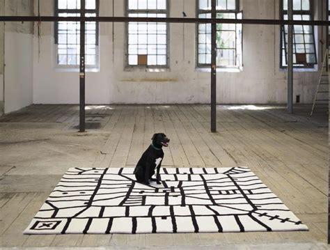 tapis laine moderne invitez les couleurs  le style chez vous