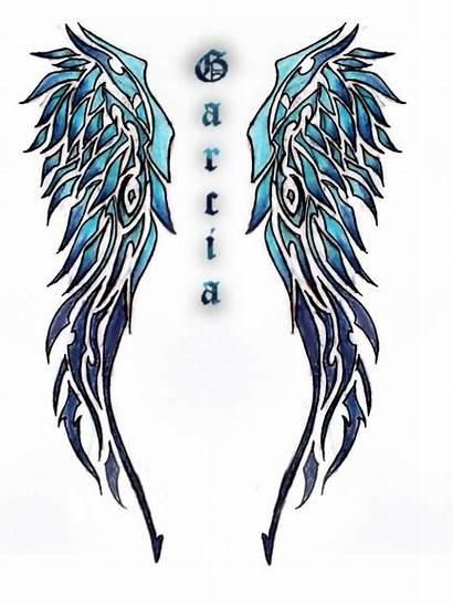 Sayap Wings Tattoo Tato Tribal Malaikat Wing