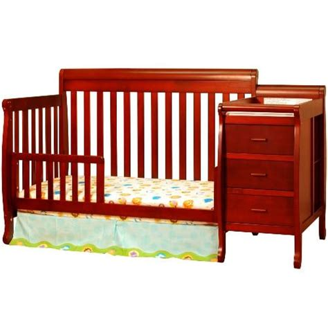 Crib Combos by Afg 4 In 1 Convertible Crib And Changer Combo