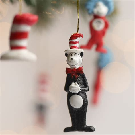 cat in the hat christmas ornaments miniature cat in the hat ornaments miniatures and winter crafts