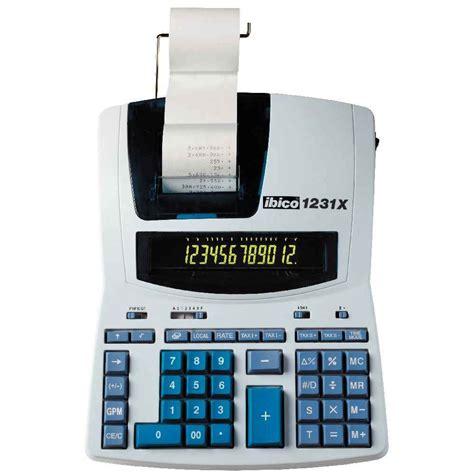 imprimante bureau calculatrice imprimante de bureau ibico 1231x 12