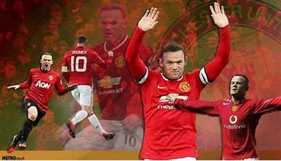 Rooney Wayne United Manchester Scorer Goals Charlton