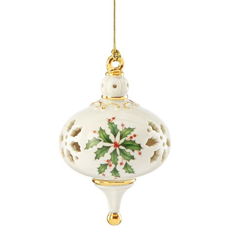 lenox 2015 holiday pierced ornament