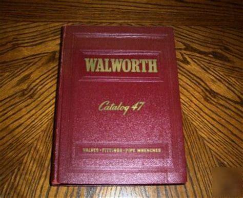 walworth valve fittings catalog  asbestos