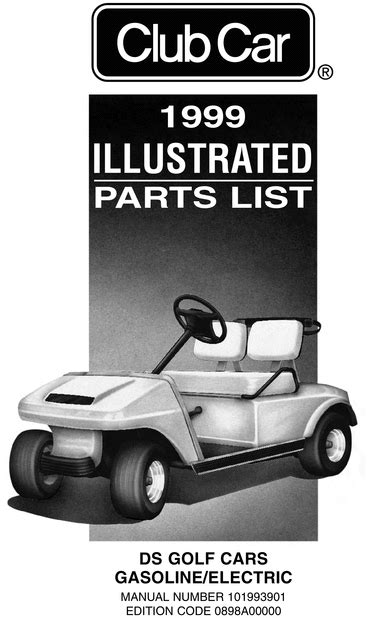 car repair manuals online pdf 1994 ford club wagon free book repair manuals 1999 club car ds gas electric parts list download manuals