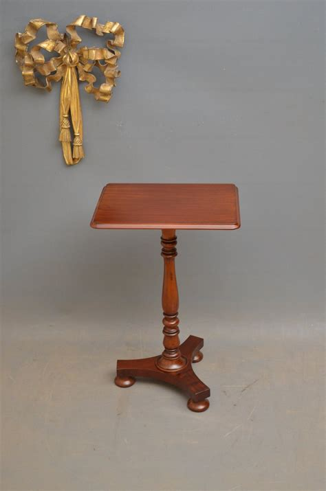 antique end table mahogany wine table antiques atlas 4129