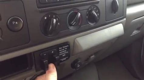 changing  integrated trailer brake controller youtube