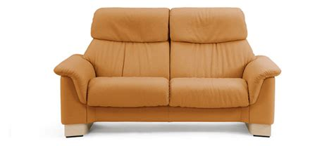 stressless canape 2 places cuir canap 233 en cuir 2 places marron stressless