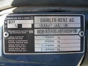 W201 Vin Decoder