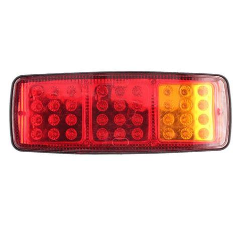 1 pair 24v 36 led trailer car truck led light l
