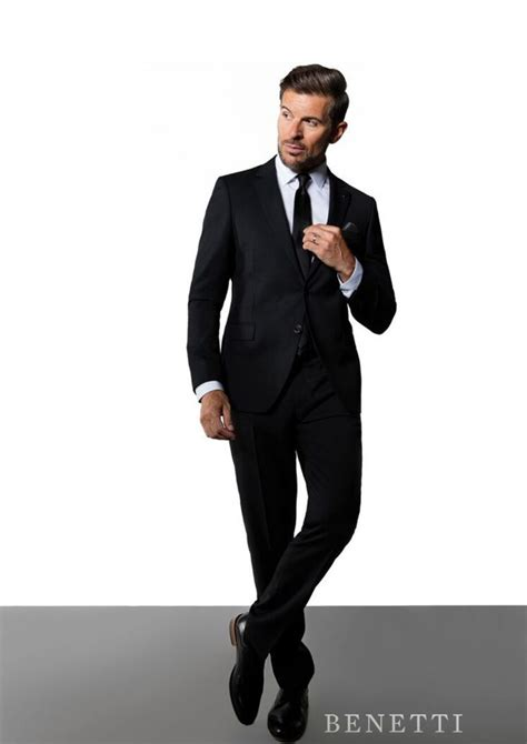 James Black 3 Piece Suit By Benetti  Tom Murphy's Formal