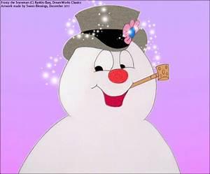 frosty the snowman happy birthday MEMES