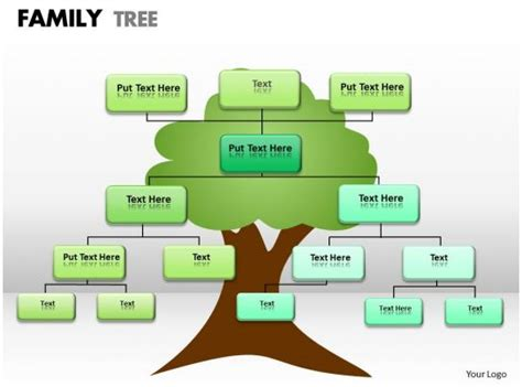family tree   powerpoint templates backgrounds