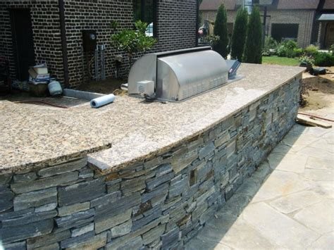 build your own kitchen island plans add to your outdoor kitchen moreno granite