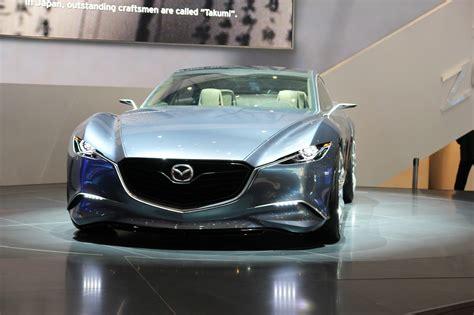 Beurzen Geneve 2018 Mazda Shinari Afbeeldingen Autoblognl