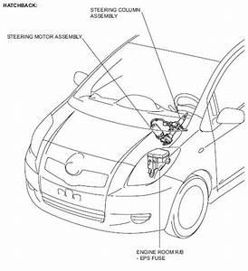 Toyota Aygo Power Steering Ecu Location