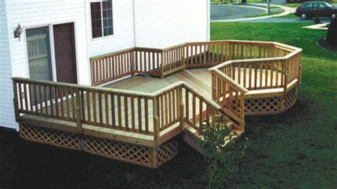 menards 16 foot deck boards 12 x 16 deck w 10 octagon at menards 174
