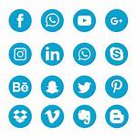 Social Icons Transparent Adobe