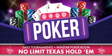 Poker Tournaments At The Winstar World Casino And Resort