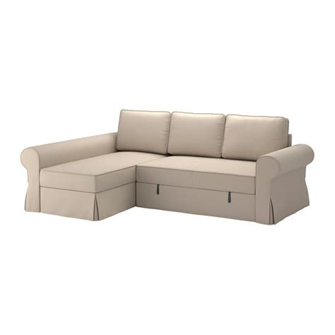 Chaise De Repassage Ikea by Backabro Cover Sofa Bed With Chaise Longue Ramna Beige