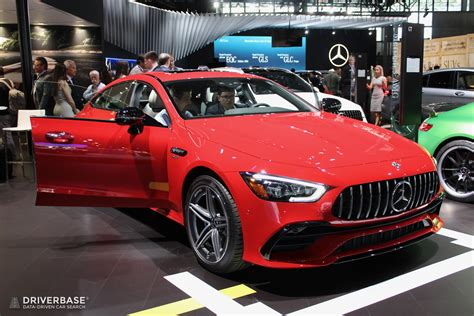 Cast, extruded or stamped aluminum composes 97% of its weight, with magnesium and advanced polymers among the remainder. 2019 Mercedes-Benz AMG GT Coupe at the 2019 New York Auto ...