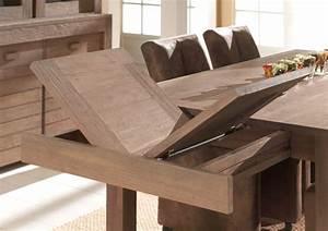 Table Carre Extensible : table carr e extensible table basse bois massif trendsetter ~ Teatrodelosmanantiales.com Idées de Décoration