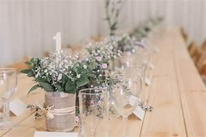 beautiful deco mariage a faire soi meme images design With chambre bébé design avec composition fleur mariage