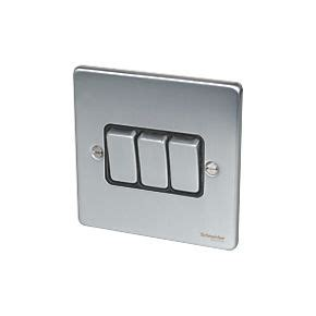 low profile light switch schneider electric ultimate low profile 3 gang 2 way 16ax