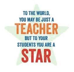Star Teacher Appreciation Quotes
