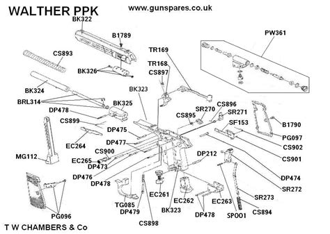 Walther Ppk S Schematic