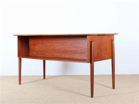 bureau en teck bureau scandinave en teck galerie møbler