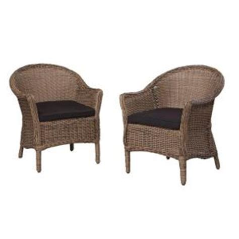 thomasville richwood 2 wicker patio dining chair set