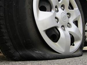 Flat tire foul play at Shelly Centre rooftop parking lot