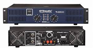 2 Channel 8500 Watts Professional Power Amplifier Amp Stereo Gtd