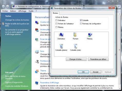 remettre corbeille sur bureau comment remettre l icone corbeille sur le bureau 28 images tutoriel ic 244 nes corbeille l